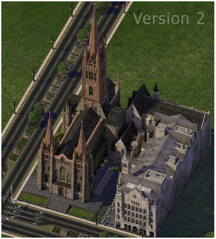St Paul's Cathedral Melbourne, Australia - Simtropolis Forums