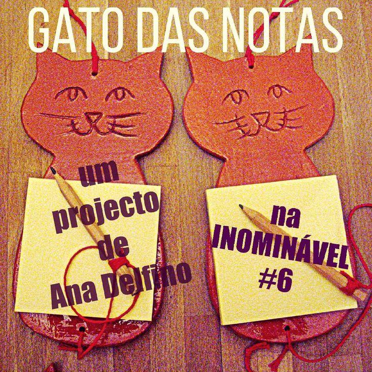 Querem saber como se faz este simpático gato-das-notas? A Ana Delfino explica tudo passo-a-passo na #revistainominavel  no. 6 https://www.joomag.com/magazine/inominável-ano-2-inominável-nº6/0916649001484564651?short #revistaonline #revista #revistaportuguesa #diy #passoapasso #ceramica #portuguesemagazine #portugal #bookstagram #instadaily [linkinbio]