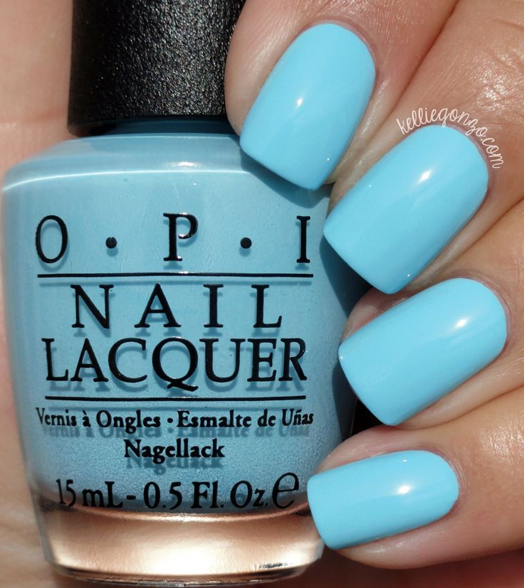 OPI — I Believe In Manicures (Breakfast at Tiffany's Collection | Holiday 2016)