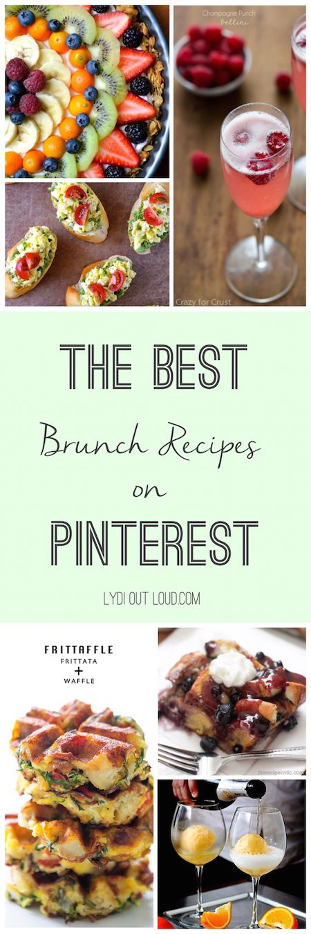These brunch recipes are phenomenal!