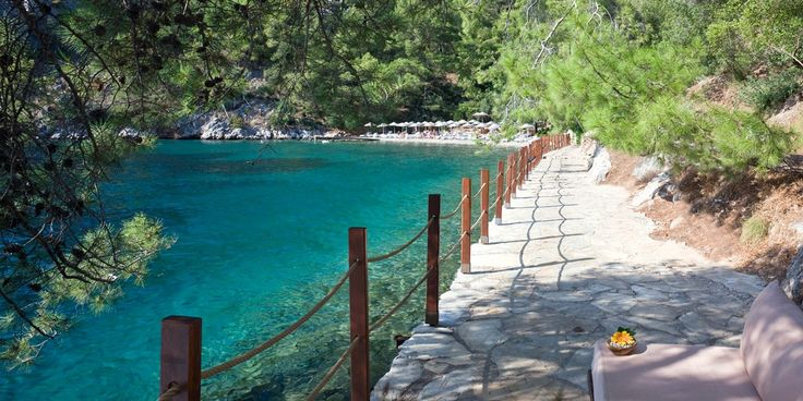 Hillside Beach Club: Near the ancient city of Fethiye, Turkey. Hillside Beach Club sits on 30 acres around a horseshoe bay.