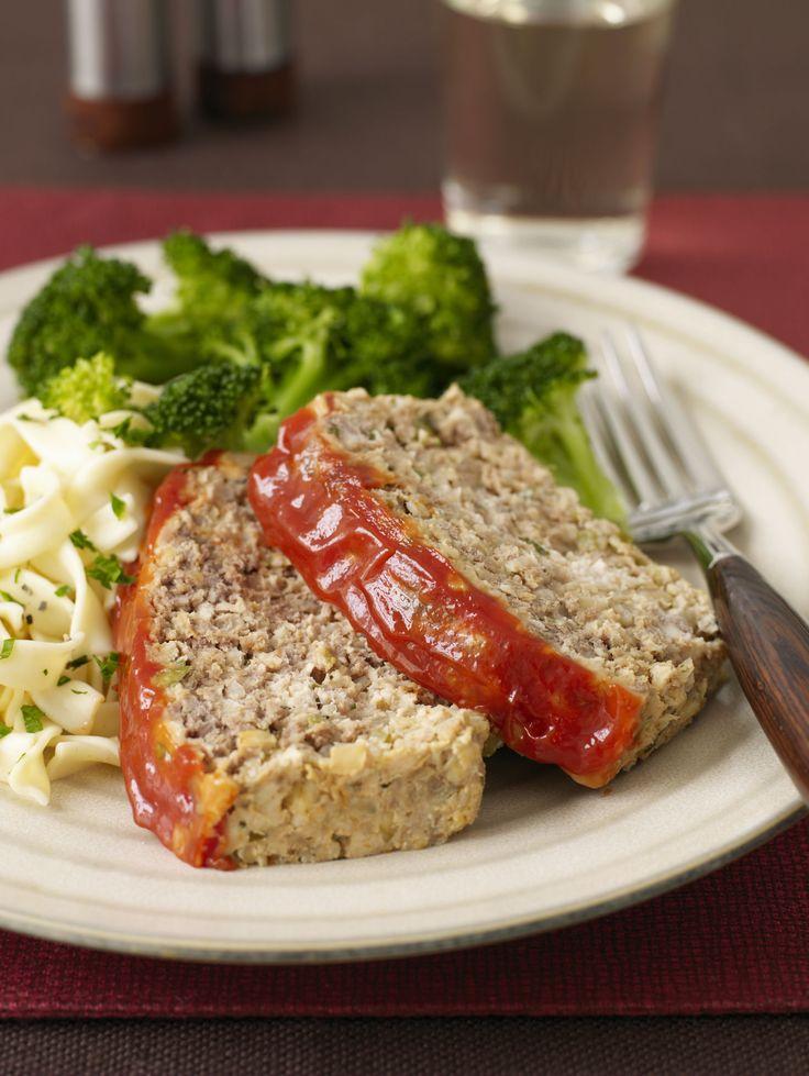 Best Glazed Meatloaf Recipe