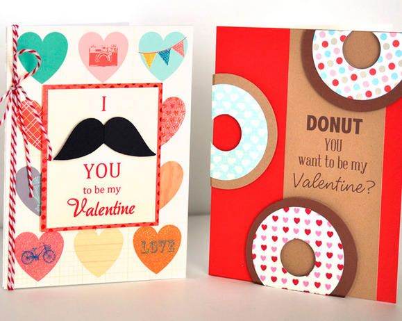 78 best Cards and Craftiness images – Creative Valentine Cards for School