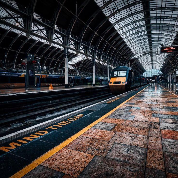 London Paddington Station, England