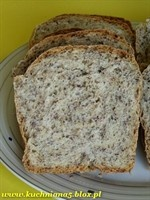 Bread with Caraway Seeds // Chleb z kminkiem