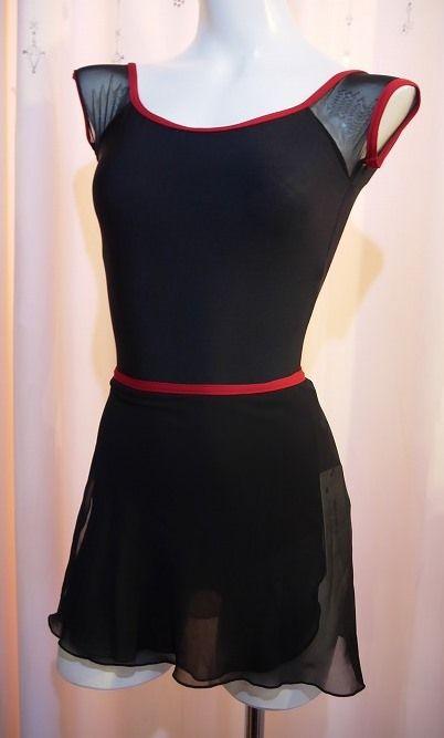 Yumiko dancewear Skirt PAT G-Black/N-India