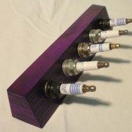 DIY:: sparkplug key holder neat idea