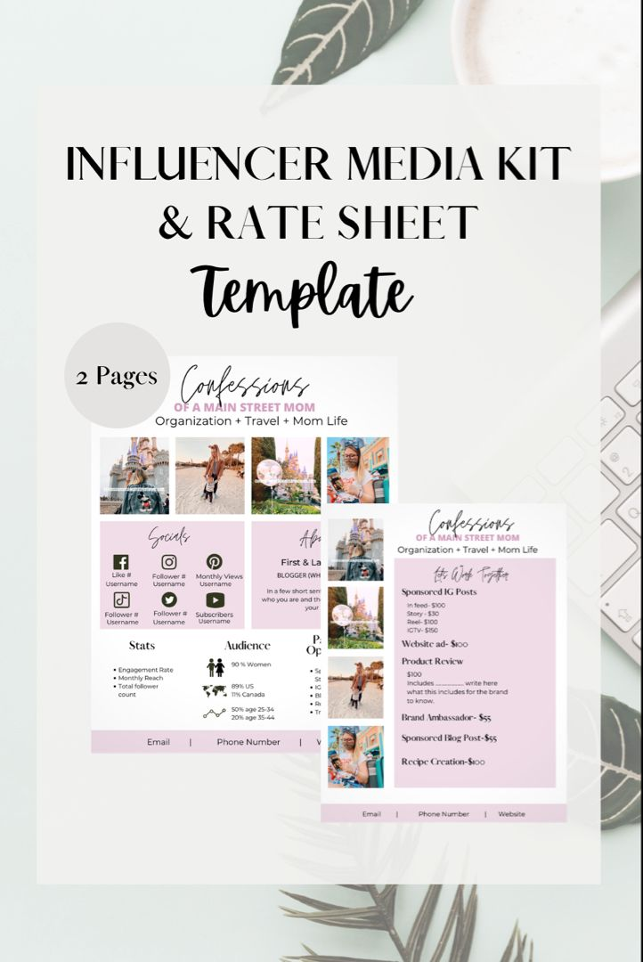 Pin On Blogger Tips And Tricks Media Kit Brand Deals