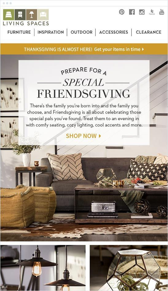 Friendsgiving from Living Spaces