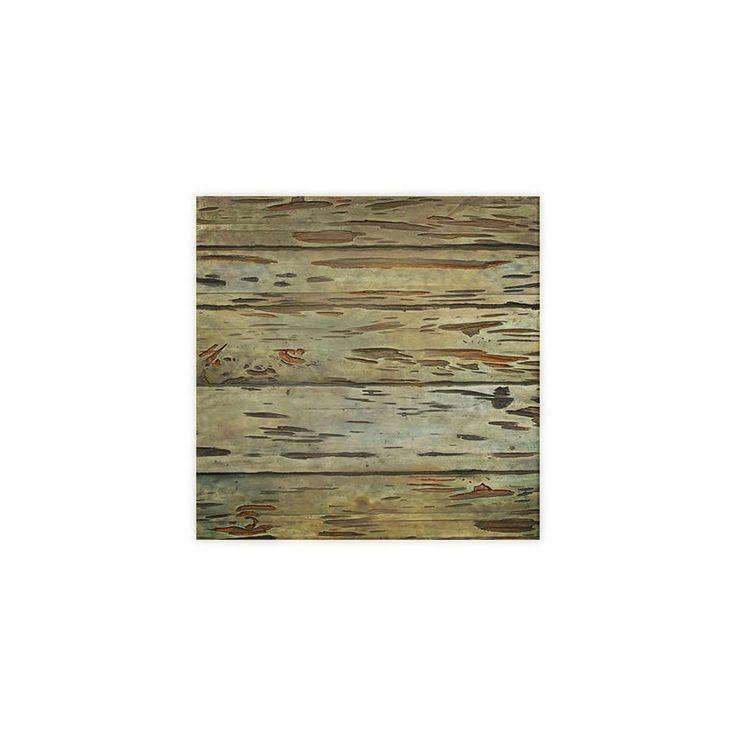 "6""W x 6""H Pecky Cypress Endurathane Faux Wood Siding Panel Sample, Weathered Blue - 19.99"