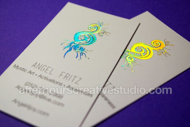 Stumbled upon a business card that I created a while ago.  Art / Activations / Awareness <3    Holographic Foil Business Card