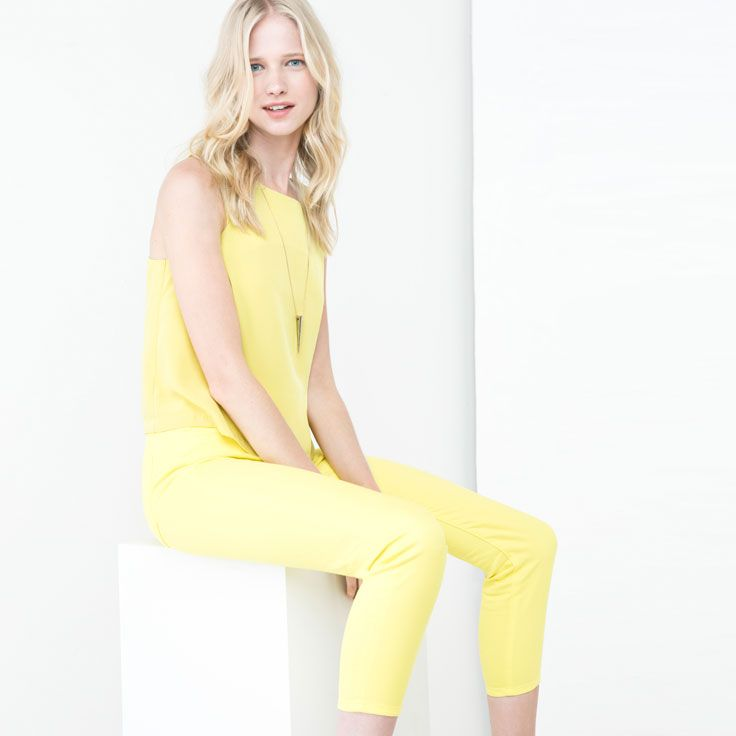 Brighten up in yellow.: Women Styles, Dream Wardrobes, Caroline Mauro, Stylish Woman, Mauro Styles
