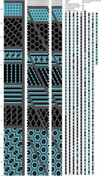 схемы на 15-16 бисерин | 139 photos | VK