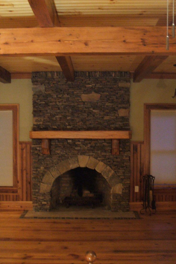 1000 images about fireplace log mantles on pinterest. Black Bedroom Furniture Sets. Home Design Ideas