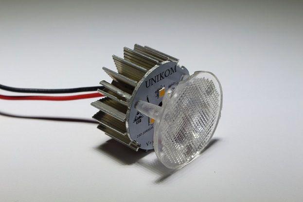 Mantar 36mm Pergola armatür LED Armatür LED light for pergola UNIKOM maslancan@unikom.com.tr