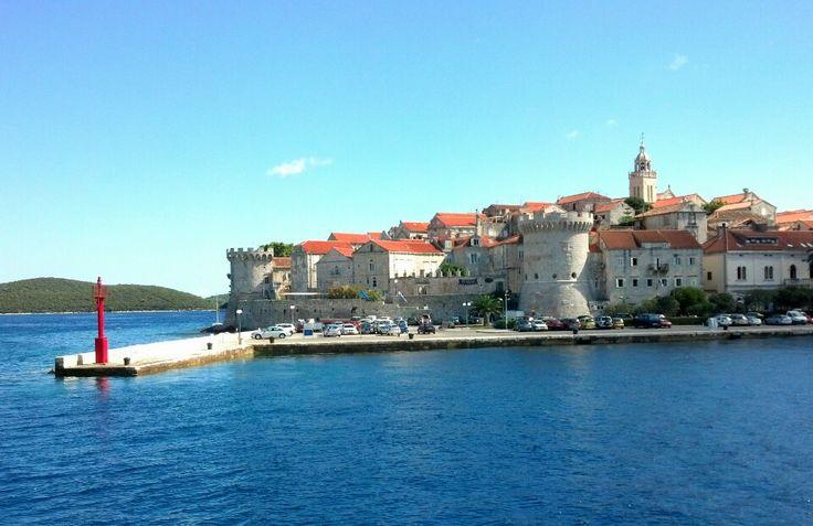 17 best images about kroatie ontdekken on pinterest old town dubrovnik and tes - Tafelhuis van het wereld lange eiland ...