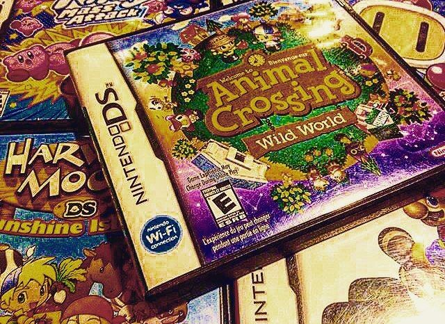 On instagram by nintendopictures #gameboy #microhobbit (o) http://ift.tt/1PLVATY 1: Animal Crossing Wild World. By the way yes this counts as Retro as it is 11 years old. (Picture taken by @retrogamingrelived ) #Mario #luigi #Yoshi #donkeykong #zelda #link#kirby #metroid #samus #xenoblade #pikmin #Splatoon #Pokemon #sm4sh #supersmashbros #amiibo #3ds #wiiu #Nintendo #nintendomeme #Nintendomemes #wario #waluigi #videogames #gaming #NES #SNES #N64 #Gameboy #3DS