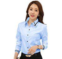 (インポートストアMK) レディース シャツ ブラウス 長袖 トップス 大きいサイズ ワイシャツ オフィス フォーマル