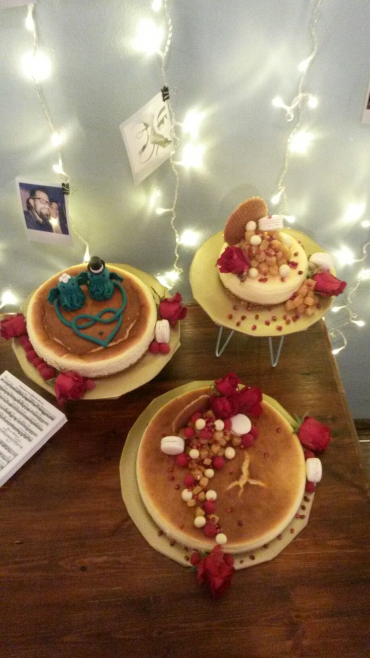 Baked cheesecake wedding off beat hipster trend