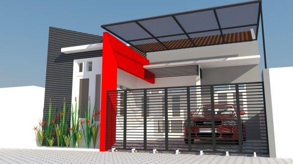Kanopi rumah minimalis terbaru