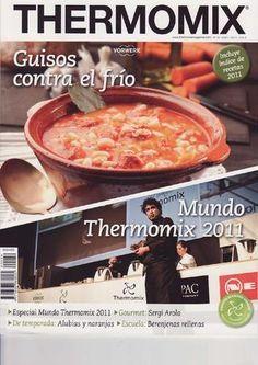 Revista thermomix nº39 guisos contra el frío