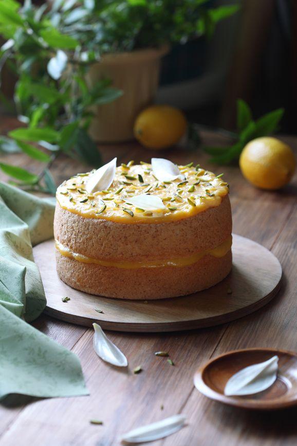 Verdade de sabor: Ангельский торт с лимонным кремом / Bolo dos anjos...