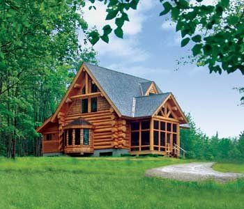 Small Log Home Plans | Filed In: Small Log Home Designs Part 91