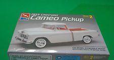 Chevrolet 1955 Cameo Pickup Truck 1:25 scale AMT/Ertl Model Kit Skill Level 2