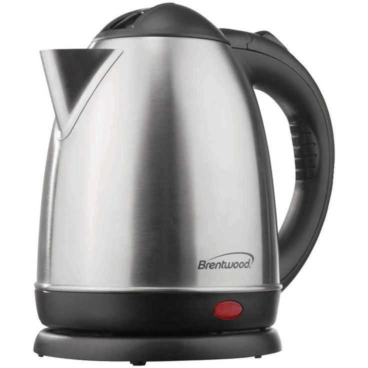 Brentwood 1.5-liter Stainless Steel Electric Cordless Tea Kettle (brushed Stainless Steel)