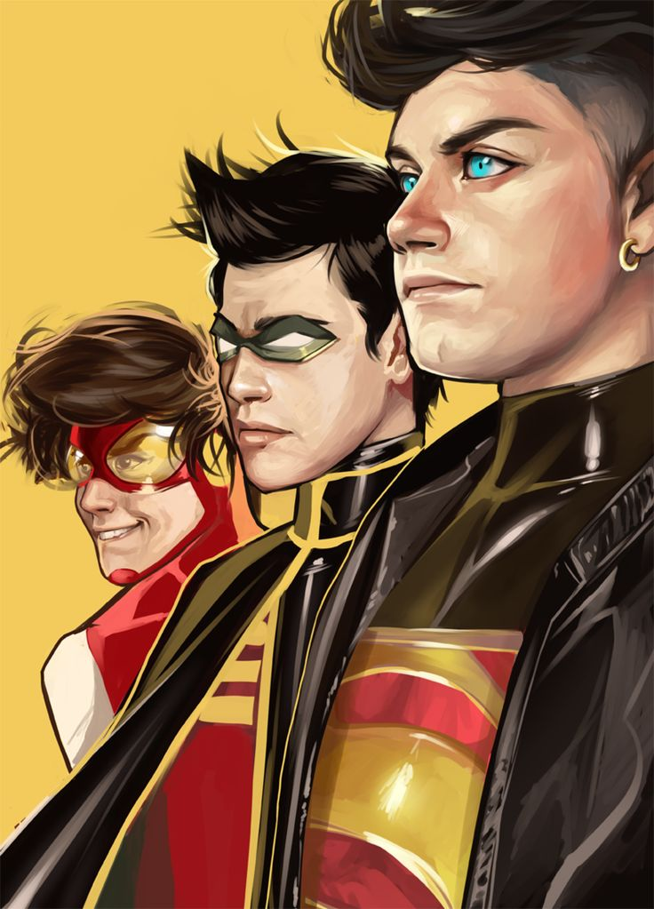 Young Justice by milkydayy*