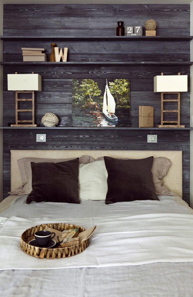 Потрясающий интерьер маленькой квартиры в стиле лофт