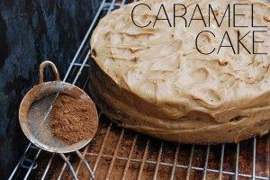YUMMY CARAMEL CAKE RECIPE