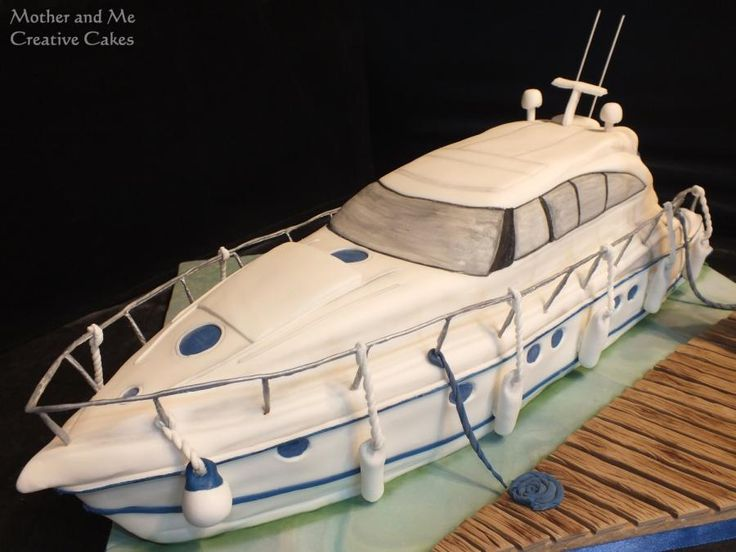 Yacht Cake by Mother and Me Creative Cakes