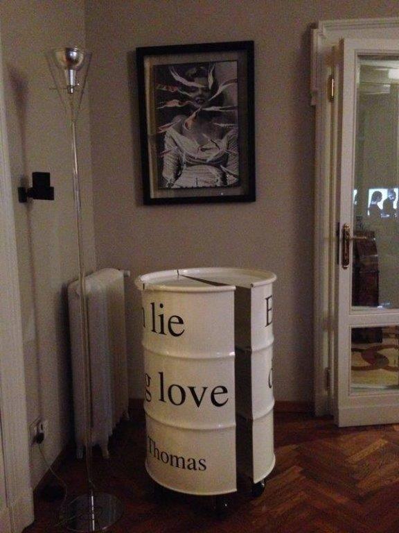 Barrel 12 Indoor collection #recycling #barrel #outdoor #design
