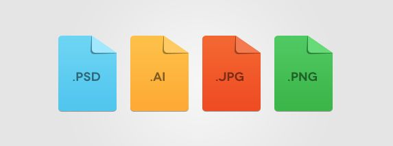 Minimal File Format Icons | Best PSD Freebies