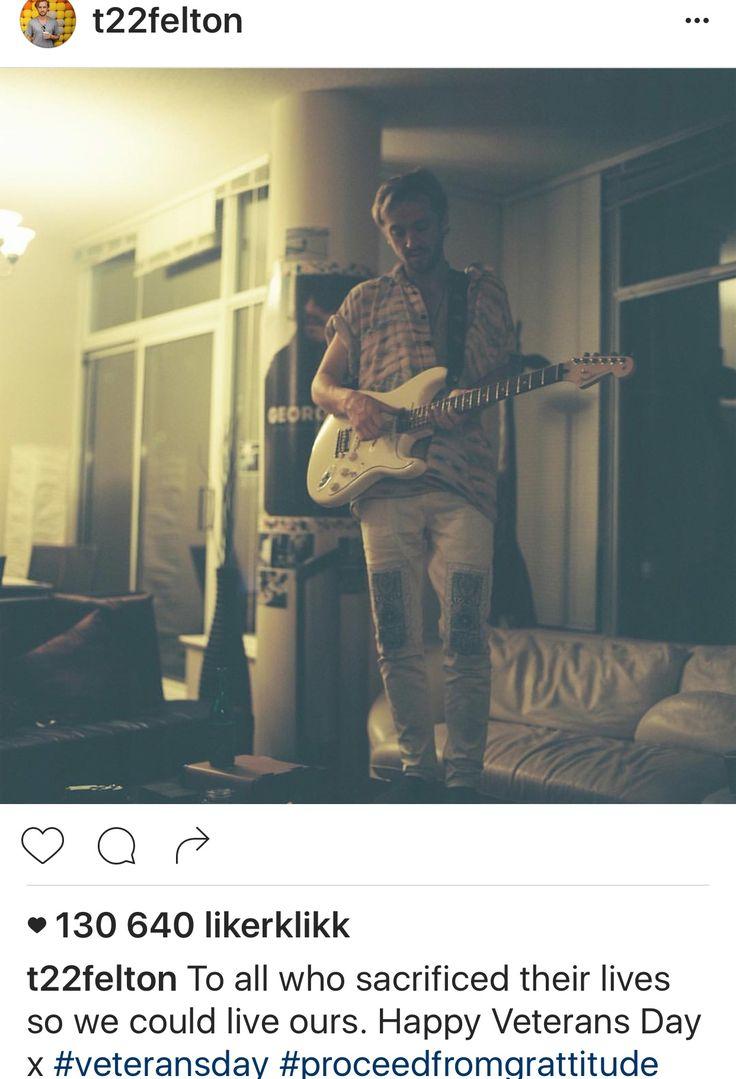 Tom Feltons Instagram