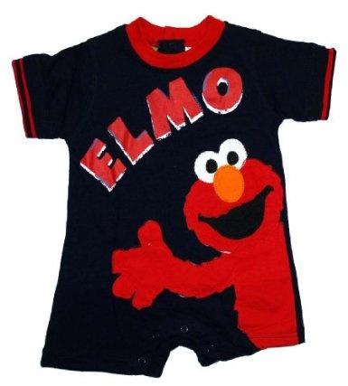 Sesame Street Jim Henson Elmo Baby Creeper Romper Bodysuit