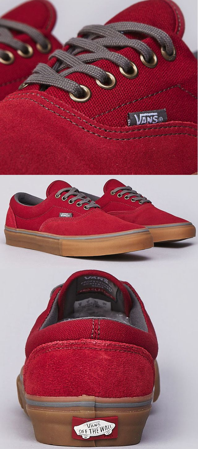 Vans // Rio Red. Great pair of trainers. Feeling festive just looking at them. Santa's new snow shoes maybe?