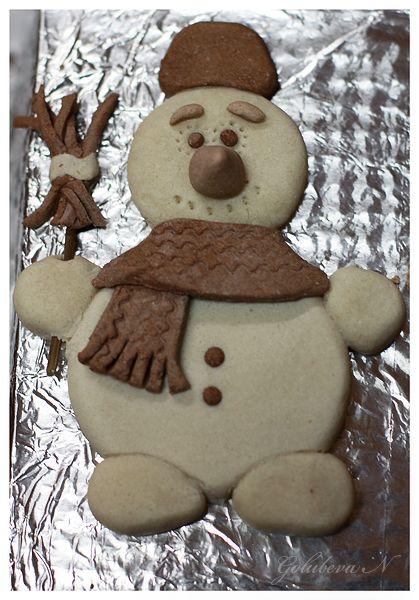 игрушки для новогодней елки снеговик