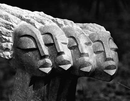 The Women - Zimbabwean stone sculpture