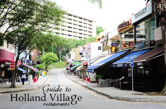 Guide to SG Holland Village Restaurants...also check out chip bee gardens