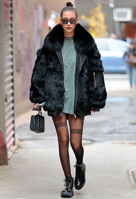 What can we say? The girl is just too cool. If you ever needed a crash course in how to nail slammin' cold-weather style, Bella Hadid is your poster girl