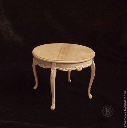 Miniature table 1:12. Handmade.