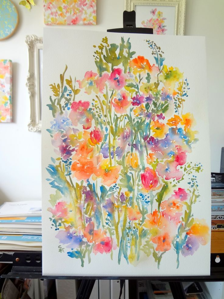 watercolor journaling | via muffy elder