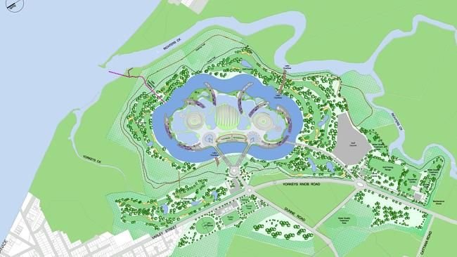 Glimpse of mega-resort masterplan reveals scale of $8billion Aquis project