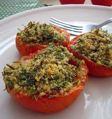 Tomates à la provençale http://www.odelices.com/recette/tomates-a-la-provencale-r2842/