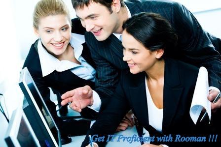 Get proficient in IT with Rooman..!!!