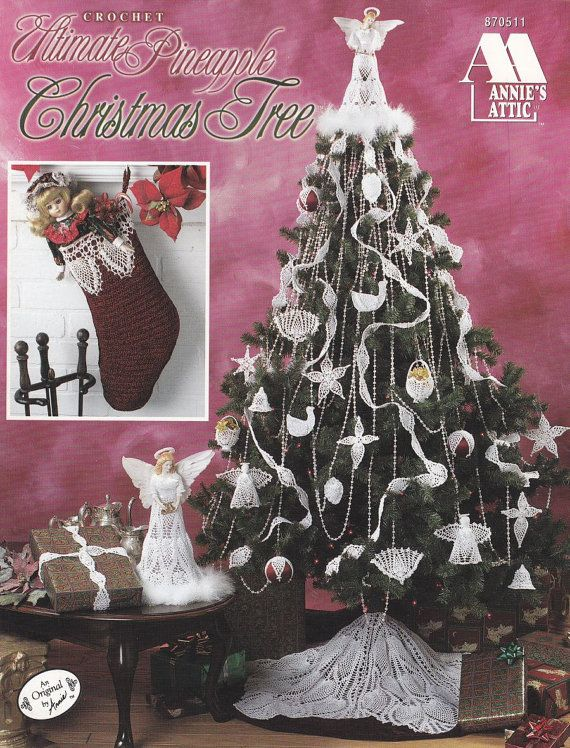 Ultimate Pineapple Christmas Crochet Patterns Angel Tree