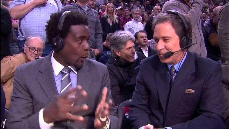 Guy Picks Nose On TNT Basketball