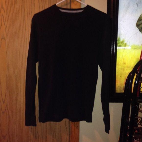 Black nucole shirt Black long john like shirt nucol Tops
